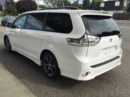 New 2017 Toyota Sienna 4 Door Mini-Van Passenger in Kelowna, BC ...