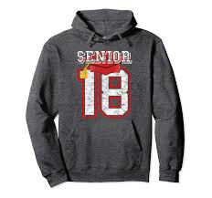 Class Sweater Designs Amazon Com Class Of 2018 Hoodie Gift For Graduation Senior