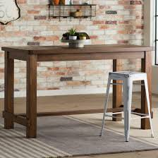 Narrow Tables For Kitchen Rectangular Kitchen Dining Tables Youll Love Wayfair