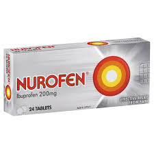 Ibuprofen 200 Mg Dosage Chart Nurofen Tablets For Headaches And Pain Relief Nurofen