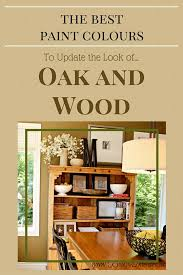 paint colors that go with oak trimThe Best Wall Paint Colors To Go With Honey Oak  Green wallpaper