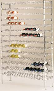 metro bottled wine shelf units are an efficient and secure way to your wine bottles