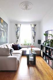Captivating Open Shelves | Long Narrow Living Room Ideas That Wonu0027t Cramp Your Style Design Inspirations