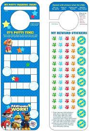 Paw Patrol Potty Training Chart Stickers Sticker Boy Horneburg Info