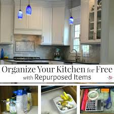 organize your kitchen how to organize your kitchen for free using items that were headed to organize your kitchen