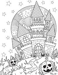 Harvest pumpkins and smiling jack o'lanterns. Cute Halloween Coloring Pages To Print And Color Skip To My Lou