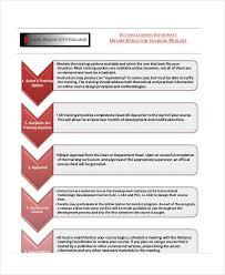 Training Chart Template Training Flow Chart Templates 7 Free Word Pdf Format