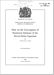 arc rm 3061 arc rm 3061 note on the convergence of numerical solutions of the navier stokes equations