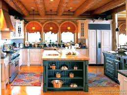 red kitchen cabinets for cabin kitchen cabinets log cabin kitchen cabinets for green island