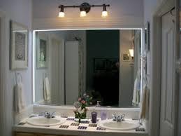 Mirror Design Ideas Local Customer Bathroom Mirrors With Led