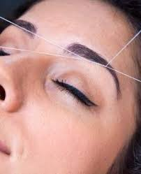bridal makeup videos step by step how to eyebrow threading tutorial the art of threading