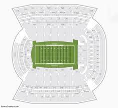 Razorback Seating Chart Eye Catching Arkansas Razorback Football Stadium Seating