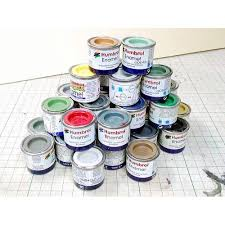Humbrol Enamel Paint Colour Chart Box Of 6 Assorted Humbrol Airfix Enamel Paints You Email