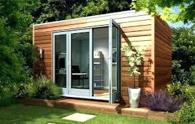 prefab office shed. Prefab Office Shed Backyard Garden Studio Contemporary Studios Home Uk G F