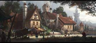 Fantasy Village Wallpapers - Top Free ...