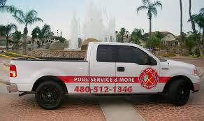 weekly pool service includes truck s82 truck