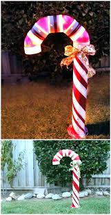 candy cane outdoor decorations yard lane giant y