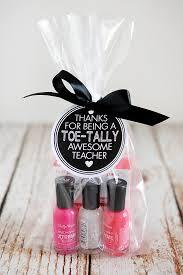 diy teacher nail polish gift
