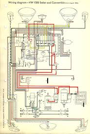 1973 vw beetle wiring diagram 1973 wiring diagrams online thesamba com type 1 wiring diagrams