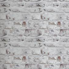 arthouse whitewash wall white wallpaper