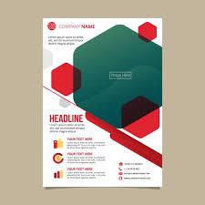 Pamphlet And Brochure Flyer Pamphlet Brochure Template Vector Illustration