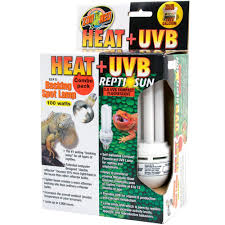 Uvb And Basking Light Zoo Med Heat Uvb Reptisun Basking Spot Lamp 100 Watts