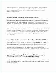 Undergraduate Student Resume Extraordinary Contract Specialist Resume Beautiful Resume Template For