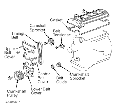 1988 Toyota Corolla Serpentine Belt Routing and Timing Belt Diagrams