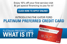 Show off your ford pride with the now available bronco™ card. Platinum Preferred Credit Card Seffner Fl