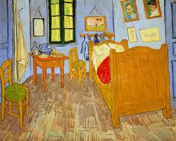 Van Goghs Schlafzimmer In Arles At Van Goghvincent Pgm Art World