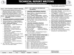 Reports Technical Writing   Images Guru