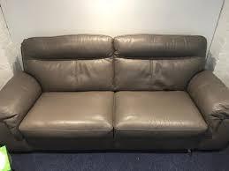 sofology leather sofa set 3 seat chair storage unit
