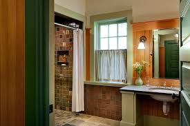 plumbing access panel with rustic bathroom also cafe curtain elegant gracious green painted wood niche