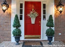 front door decor summerFront Door Decorating Ideas Summer With Summer Front Porch