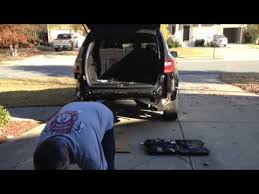2014 dodge durango trailer hitch install youtube 2014 dodge durango wiring diagram at 2014 Durango Trailer Wiring Harness