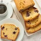 blueberry almond tea bread