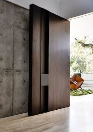 wooden front door26 Modern Front Door Designs For A Stylish Entry  Shelterness