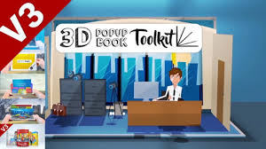 After Effects Story Book Template After Effects Template 3d Pop Up Book Toolkit Story Construction Set