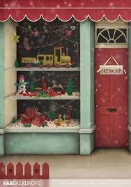 office backdrops. FabDrops Christmas Shop Photography Backdrop Toys Toyshop Office Backdrops
