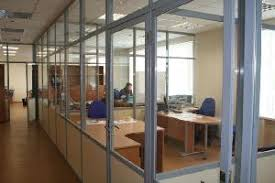 aluminum office partitions. Fixed Partitions - Lightweight Walls Consisting Of Aluminium Profiles And Infilling Glass (including Inbuilt Blinds With Adjusting Mechanism), Aluminum Office