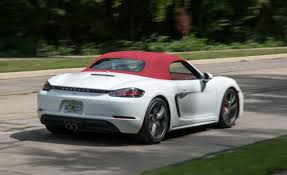 2018 porsche spyder. delighful porsche 2018 porsche boxster rear throughout porsche spyder