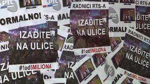 Image result for Deseti protest u Beogradu: 'Građani Srbije su taoci Vučića'