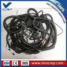 ex100 3 hitachi excavator outer external wiring harness 0001847 mazda 3 stereo wiring harness at 3 Wiring Harness