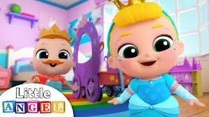 <b>Baby Girl Dresses</b> Up As <b>Princess</b>   <b>Princess</b> Song   Nursery ...