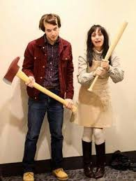 DIY Couples Halloween Costume Ideas   Jack And Wendy   Scary The Shining  Movie Characters Couples Costume Idea Via Gurl