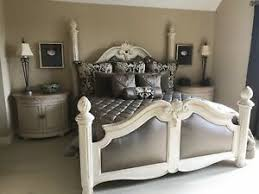 Details about HENREDON ALFRESCO STATELY KING BED SET w/ MARGE CARSON