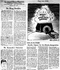 television news and the civil rights struggle the views in   dr king decides richmond times dispatch 5 1963