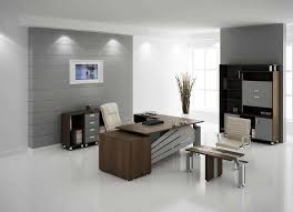 beautiful office designs. Rustic Office Interior Furniture Set And Beautiful Lighting Design With Cabinets For Ideas Grey Flooring White Chairs Designs