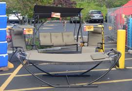 patio furniture on at fred meyer s sidewalk