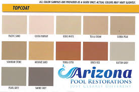 Cool Deck Paint Color Chart Kool Deck Repair Restoration Arizona Pool Restorations
